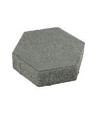 KC บล็อคหกเหลี่ยม 30x30x6ซม.สีเทา kc