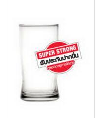 แก้วซุปเปอร์สตรอง 10 ออนซ์ 10oz. NO COLOR