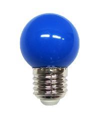 HI-TEK หลอด LED ECO Series ปิงปอง 1วัตต์ ขั้ว E27 HLLC00001B สีน้ำเงิน