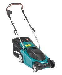 MAKITA เครื่องตัดหญ้ารถเข็น แบบไฟฟ้า  ELM3711 สีเขียว สีฟ้า