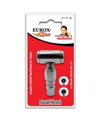 EUROX หัวเติมลมสั้น 2 ทาง EUROX -