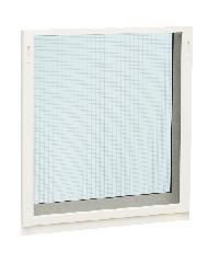 EZY WINDOW มุ้งไฟเบอร์ หน้าต่างบานกระทุ้ง J-Trus สีขาว