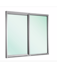EZY WINDOW หน้าต่างบานเลื่อนเดี่ยว Trustand Ezy ขาว