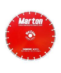 MARTON ใบตัดเพชรเซาะร่อง  ตัดคอนกรีต14X3mm  สีแดง