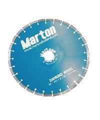 MARTON ใบตัดเพชรเซาะร่อง  ตัดคอนกรีต 16X3mm. สีฟ้า
