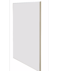 KITZCHO แผ่นไม้บิวต์เสริมตู้บน KMR-X-BW-30244-WH ขาว