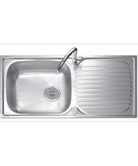 MEX อ่างล้างจาน 1 หลุมมีที่พัก DL112MN