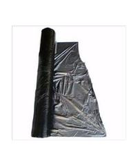 แมงป่อง ผ้าพลาสติกปูดิน  0.8 ม.-400 หลา -0.030 ดำ/เงิน