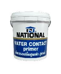 NATIONAL น้ำยารองพื้นปูนเก่าสูตรน้ำ 2.5 กล. NATIONAL สีขาว