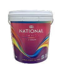 NATIONAL เนชั่นแนลชิลด์ 2.5 กล.  เบส C สีขาว