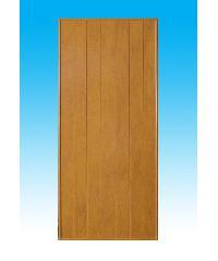 CHAMP ประตูพีวีซี (80X200) (ไม่เจาะ) P-1  สีสักทอง