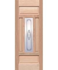 WINDOOR ประตู-กระจก TASMANIAN ชมพูอมแดง