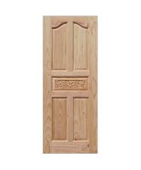 WINDOOR ประตูสลักลาย L 118 เหลืองอมขาว