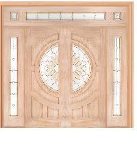 WINDOOR ประตู+กระจก สนNz 80x200 Sun Flower-com 16