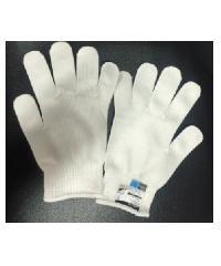 MICROTEX  ถุงมือผ้ากันบาดสีขาว   Super Hi-Cut L สีขาว