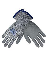 PARAGON ถุงมือกันบาดเคลือบพียู HI CUT สีเทา
