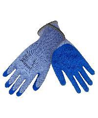 MICROTEX ถุงมือกันบาดเคลือบยาง MICROTEX 300 สีฟ้า