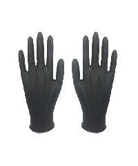 PARAGON ถุงมือยางไนไตร Super Black สีดำ