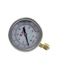 Super Products เกจวัดแรงดันแบบมีน้ำมัน 0-6 บาร์ OPG