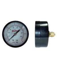 Super Products เกจวัดแรงดันแบบแห้งเกลียวหลัง 0-10 บาร์ 537-0010