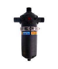 Super Products กรองน้ำชนิดแผ่นดิสก์ พร้อมใบพัดเทอร์โบไล่ตะกอน 2 นิ้ว SPD ดำ