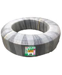 """Super Products ท่อ LDPE แรงดัน4 ขนาด 25 มม.100 ม. คาดส้ม(3/4"""")"""