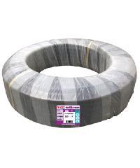 """Super Products ท่อ LDPE  แรงดัน4 ขนาด 32 มม.200 ม.คาดส้ม(1"""")"""