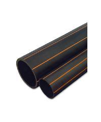 """Super Products ท่อ LDPE  แรงดัน4 ขนาด 63 มม.50 ม.คาดส้ม(2"""")"""