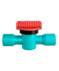 Super Products วาล์วสำหรับ PVC ขนาด 1/2 นิ้ว (5ตัว/แพ็ค) L PVC