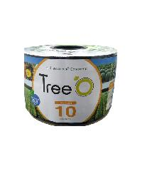 Tree O เทปน้ำหยด Treeo10ซม.1000ม. 2ลิตร/ชม. Tree o