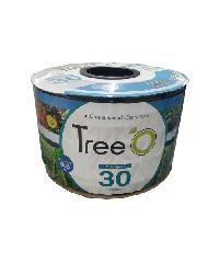Tree O เทปน้ำหยดTreeo 30ซม.1000ม. 2ลิตร/ชม. Tree o