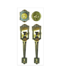 YALE กุญแจมือจับประตูทางเข้า HG-6610AB ทองเหลือง