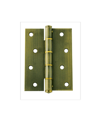 YALE บานพับประตู แกนเล็ก HI-AB43SS ทองเหลืองรมดำ