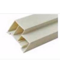 BATHIC วงกบ PVC 70x200  7004200 สีครีม
