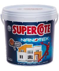 Dulux ซูเปอร์โคทนาโนเท็กซ์สีน้ำภายนอกเบส D Supercote Nanotex