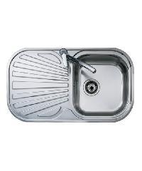 TEKA อ่างล้างจานสแตนเลส1หลุมพร้อมที่พักจาน STYLO 1B1D