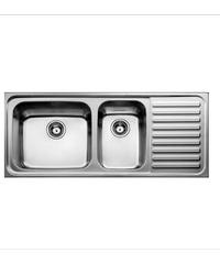 TEKA อ่างล้างจาน 2 หลุม 1 ที่พัก CLASSIC MAX 2B 1D (RHD) สแตนเลส