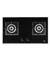 TEKA เตาแก๊สแบบฝังหน้ากระจก 2 หัวเตา GA LUX 77 2G AI AL 2TR สีดำ