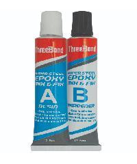Threebond อีพ็อกซี่มิกซ์ฟิกซ์แห้งเร็วสีเหล็ก THREEBOND