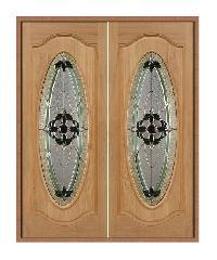 MAZTERDOOR ประตูไม้เรดเมอร์รันตี (90 x 200) Vanda-06