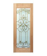 MAZTERDOOR ประตูกระจกสยาแดง 80x200 cm. Stmd-004