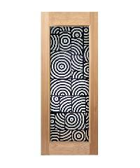MAZTERDOOR ประตูไม้สยาแดง ขนาด 80x200 cm. Master-012