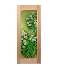 MAZTERDOOR ประตูไม้สยาแดง (80x200)cm Master-003