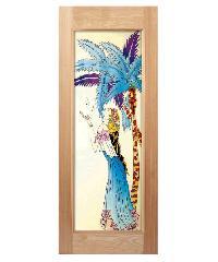 MAZTERDOOR ประตูไม้สยาแดง 80x200 ART-04