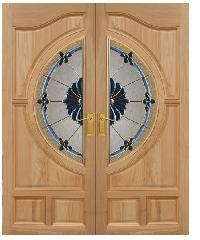 MAZTERDOOR ประตูไม้นาตาเซีย (100 x 200 ) Vanda-06