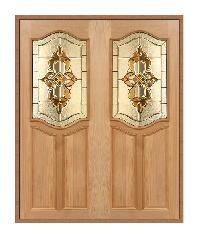 MAZTERDOOR ประตูไม้นาตาเซีย ขนาด 90x200 cm. Genus-02