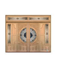 Masterdoors SET B ประตู บานไลด์ไม้สยาแดง ขนาด 320x240 cm. Vanda-06