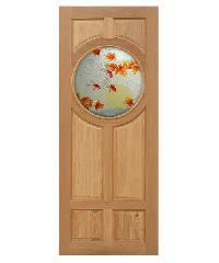 MAZTERDOOR ประตูกระจกไม้นาตาเซีย ขนาด 100x200 cm. Master-C01