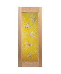 MAZTERDOOR ประตูไม้นาตาเซีย ขนาด 80x200 cm. Master-008