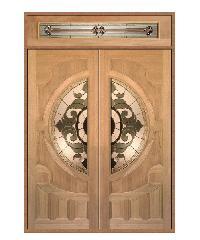 MAZTERDOOR ประตูไม้จาปาร์การ์ 180x240 VANDA-04 Set 2